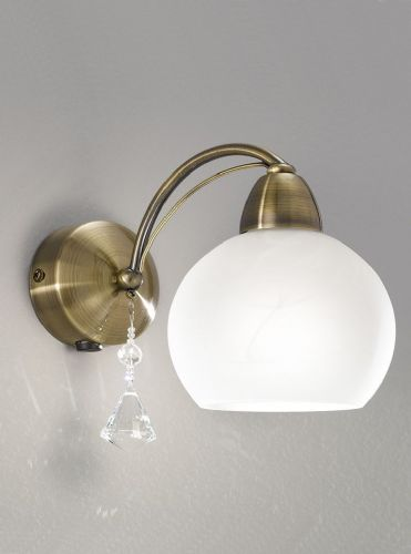 Franklite FL2278/1 Bronze Wall Light (Class 2 Double Insulated)